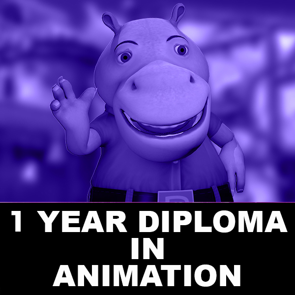 1 Years Diploma in Animation