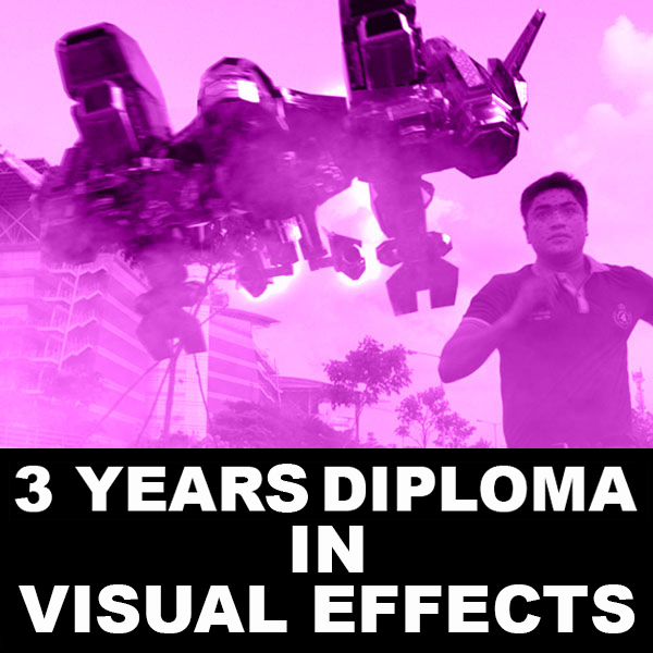 3 year diploma in Vfx