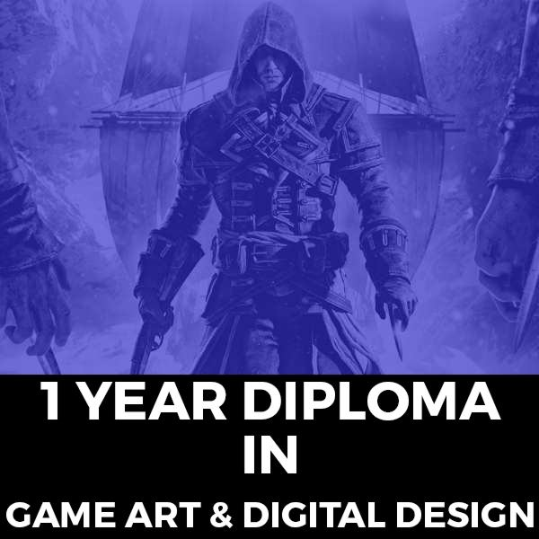 1 Year Diploma in Game Art & Digital Design