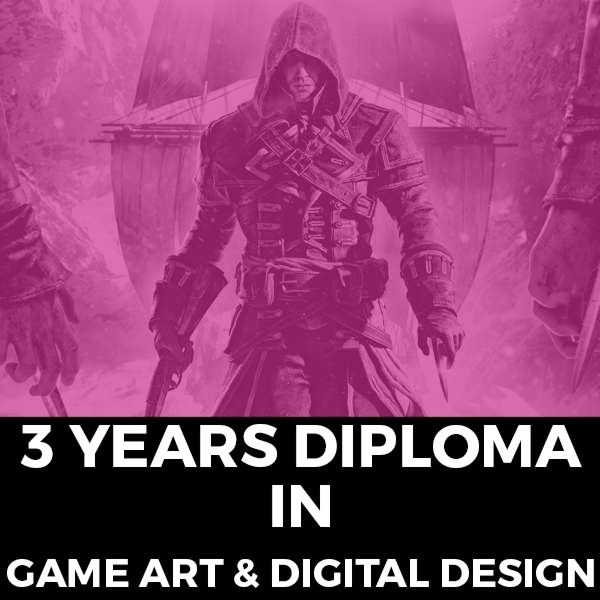 3 Year Diploma in Game Art & Digital Design