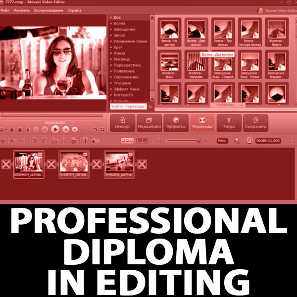 Professional Diploma in Editing