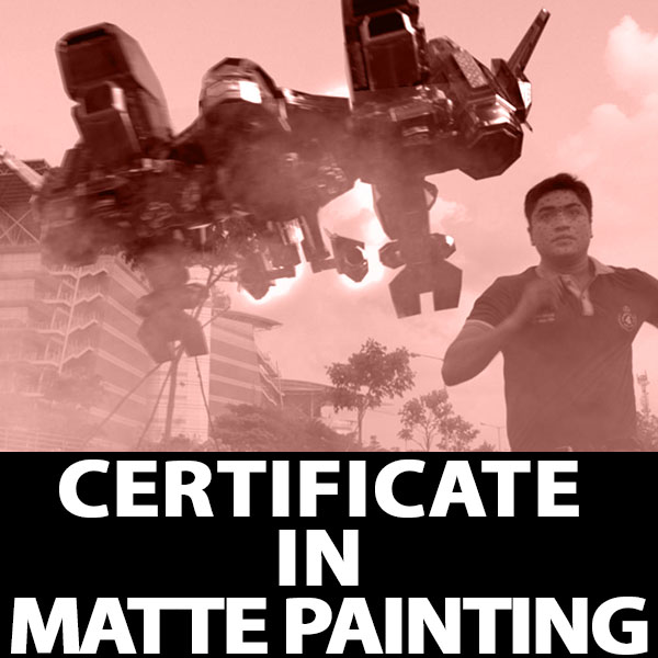Certificate in Matte Painting