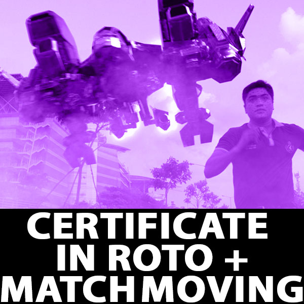 Certificate in Roto Match Moving