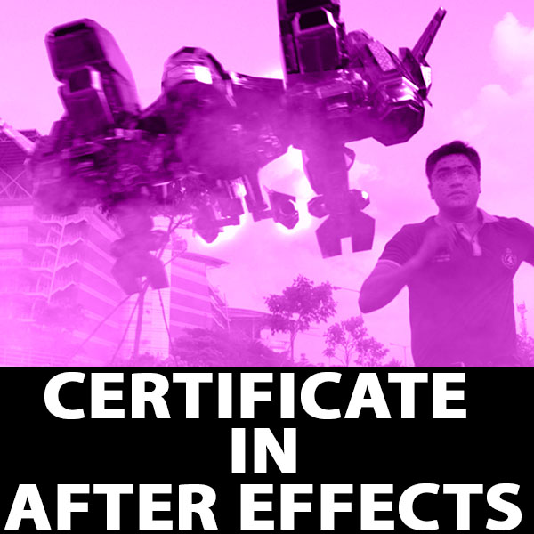 Certificate in After Effects